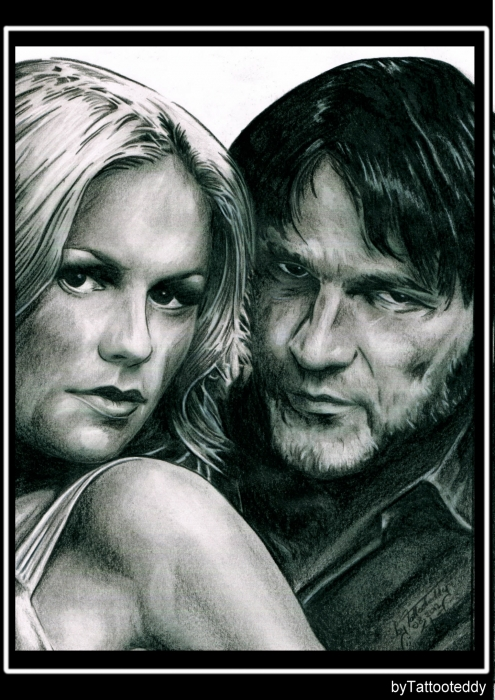 Anna Paquin, Stephen Moyer por Tattooteddy
